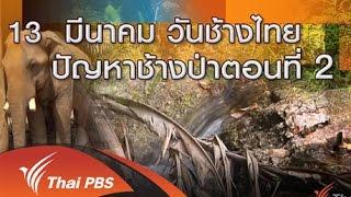 ร้องทุก(ข์) ลงป้ายนี้ - 13 มีนาคม วันช้างไทย ปัญหาช้างป่า ตอนที่ 2