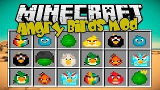 MINECRAFT MODS - Despliega A Los ANGRY BIRDS Para Matar A Los GREEN PIGS