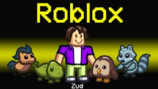 NEW Among Us ROBLOX ROLE?! (Funny Mod)