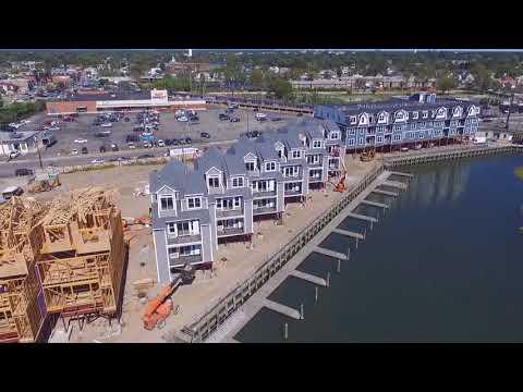 Marina Pointe East Rockaway - Progress Video (September 2017)