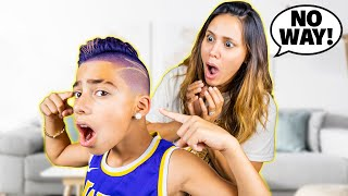 FERRAN Has a NEW LOOK!! **MOM REACTS** | The Royalty Family
