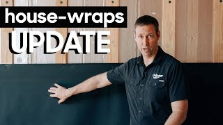 What's NEW In House-Wraps - Vapor Open + UV Stable Options