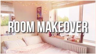 ROOM MAKEOVER 2018 + DIY Vanity Mirror Under £50