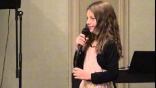 Amanda C. T. Sings ( Rockin' Around the Christmas Tree ) Decemeber  2014