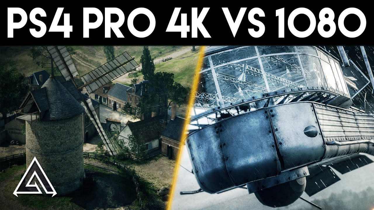 Comparativa De Battlefield 1 En Ps4 Pro Y Ps4 Normal Xgn Es