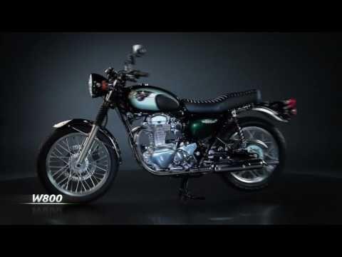 Kawasaki W800 2011 Official video