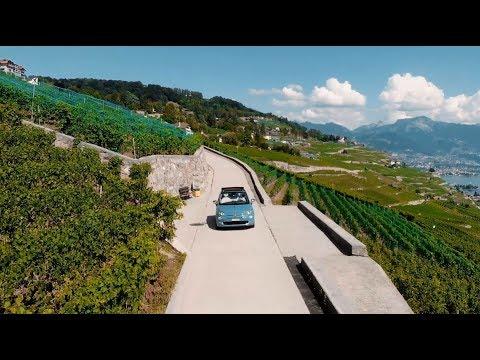 Au volant de la Fiat 500C Anniversario