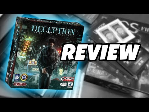 What's in the box...DECEPTION: UNDERCOVER ALLIES