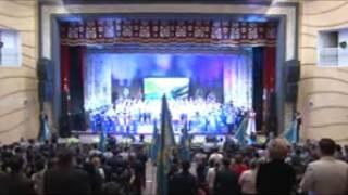 Творческие коллективы Темиртау спели любимые песни Н.Назарбаева