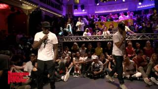 Icee vs Paradox SEMI FINAL Hiphop Forever - Summer Dance Forever 2016