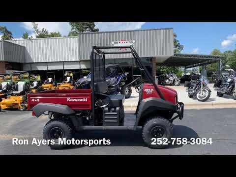 2021 Kawasaki Mule 4010 4x4 in Greenville, North Carolina - Video 1