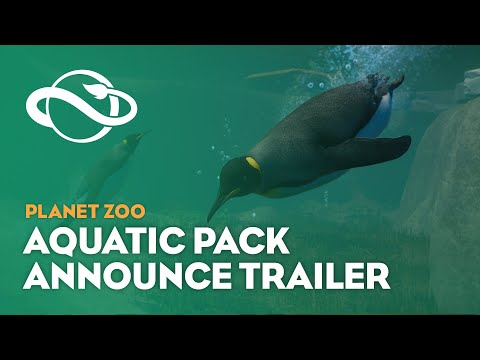 Annonce Planet Zoo: Aquatic Pack  de Planet Zoo