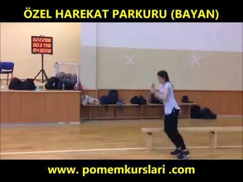 Özel Harekat(PÖH) Parkuru - Bayan - Yeni - 2018