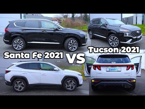 Hyundai Tucson vs Hyundai Santa Fe 2021
