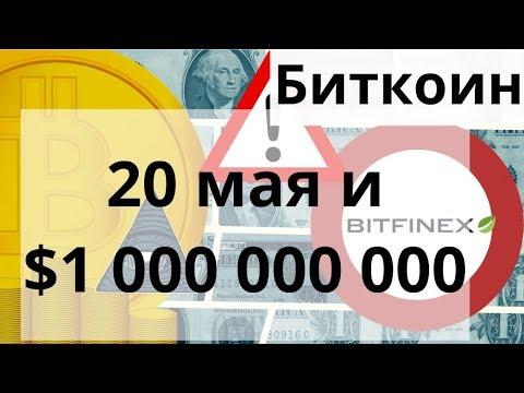 Биткоин 20 мая и $1 000 000 000 и 50 000% роста впереди говорит он