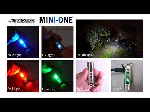 JETBeam MINI-ONE keychain light review