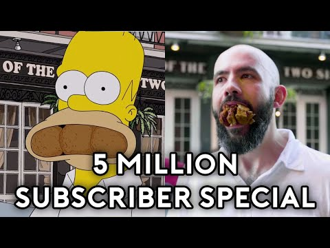 Download Binging with Babish 5 Million Subscriber Special: Recreating Homer Simpson's NOLA Food Tour HD Mp4 3GP Video and MP3