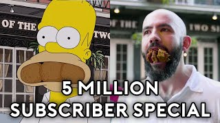 Binging with Babish 5 Million Subscriber Special: Recreating Homer Simpson's NOLA Food Tour