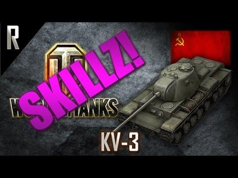 ► World of Tanks: Skillz - Learn from the best! KV-3 #1