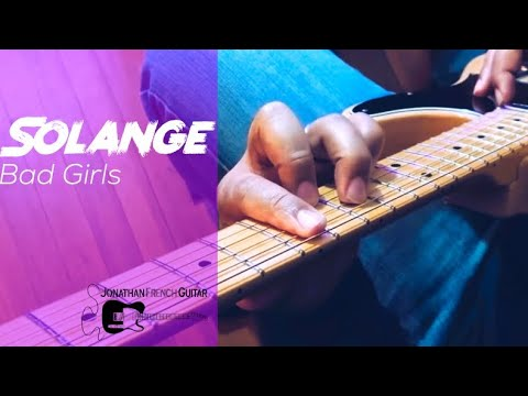 """Bad Girls"" by Solange is a fun song to play! Sign for lessons with me today!"
