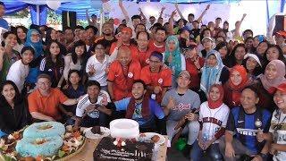 Meriahnya Perayaan Ultah  ke-8 Tribunnews dari Peragaan Kostum hingga Dangdutan