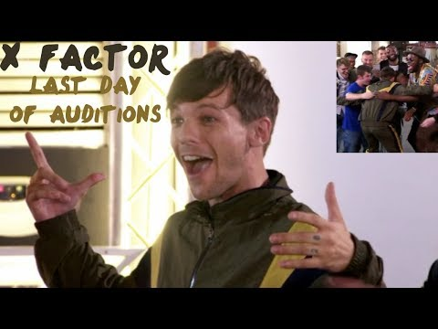 LOUIS TOMLINSON  AT THE X FACTOR | All moments 8 week ( last day of auditions)