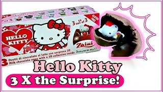 Hello Kitty Chocolate Surprise Eggs | Toys Stuff As Gifts For Adults & Kids!