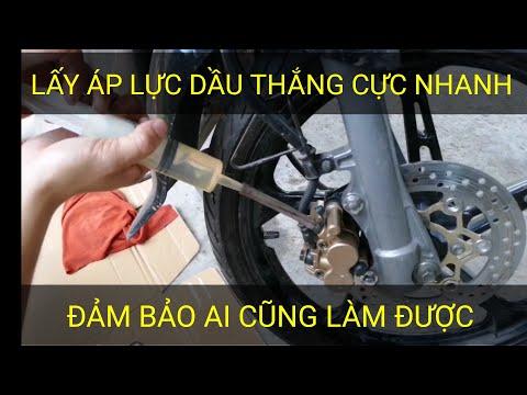 Cách lấy áp lực dầu thắng đĩa xe máy tại nhà hiệu quả nhất