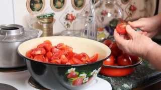 Как приготовить томатную пасту домашних условиях | Простой Рецепт на Зиму