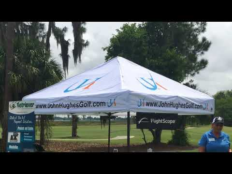 John Hughes Golf - Partner Spotlight E-Z Up Instant Shelters