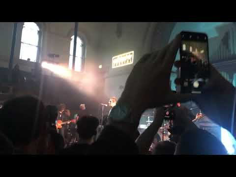 Liam Gallagher - New Song- Shockwave - First Live Performance, Hackney Round Chapel