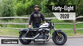 Walkthrough Talkthrough | 2020 Harley-Davidson Forty-Eight