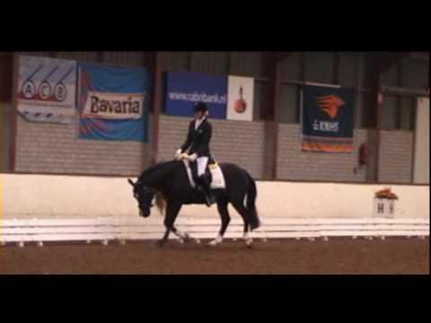 Sandokan's Pardo en Daphne Vergouwen NK indoor Wanroij 6 maart 2010