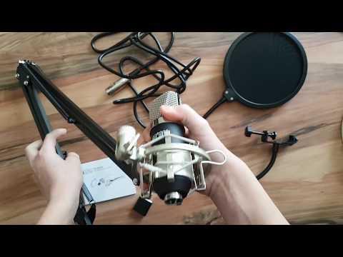 Tonor Studio/Gaming XLR Kondensator Mikrofon Set REVIEW