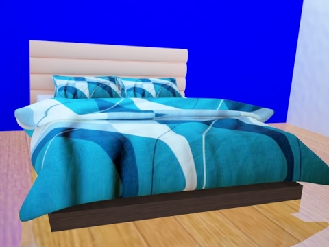 Bed Modeling with Pillow and blanket in 3Ds Max | 3Ds Max Tutorial