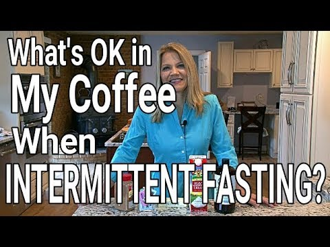 When Intermittent Fasting is Cream or MCT Oil OK in Coffee? Sweetener? Butter? Spices?