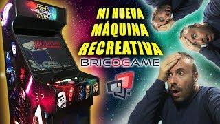 Mi Nueva Keyboy Ultra Star Wars De Bricogame. La Mejor Máquina Recreativa Arcade En Casa.