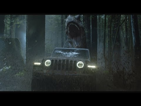 Jeep Wrangler, Jurassic World: Fallen Kingdom, and Super Bowl LII 2018 Commercial