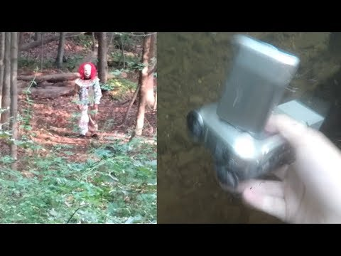 River Treasure: Clown Sighting, Rarest Hot Wheel, Vintage Camcorder, Pebble Watch, and A CAN of...
