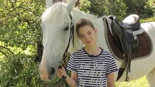 "Алина Мегеррамова. Сюжет с конного клуба ""Амазонки""."