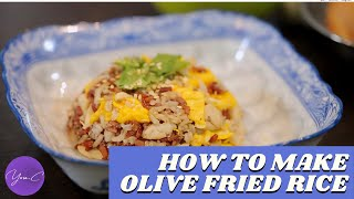 HOW TO MAKE OLIVE FRIED RICE ✨ EAT WELL #39