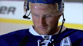 Steven Stamkos on his Bauer sticks