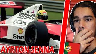 Português Reage A FEITOS HISTÓRICOS De Ayrton Senna