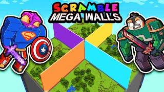 Scramble Craft MEGA WALLS! (Minecraft)