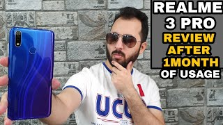Realme 3 Pro Review After 1Month Of Usage with Pros & Cons Camera, Gaming, Heating Test 