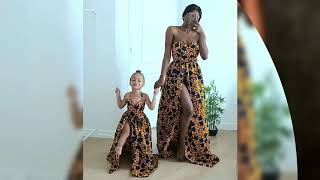 Latest Ankara Styles For Mother And Daughter #unique Kitenge Designs For Mother And Daughter 2020