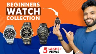 Beginners Watch Collection | 5 Watch Rules For Creating Basic Watch Collection  |