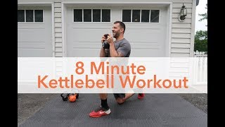 Workout Video: 8 Minute Kettlebell Workout by Yoga by Candace