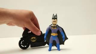 Batman Angry Bird Stop Motion  Angrybirds Costume Superman Superhero Play Doh Videos 6