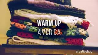 Warm Up America Blanket Square